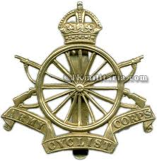 Army Cycling Corps Military Badge