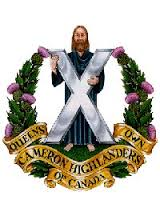Cameron Highlanders Regimental Badge
