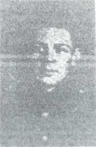 Drummer Frank Hallam photograph from Buxton Advertiser 7th August 1915
