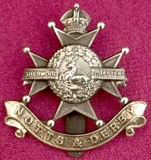 Sherwood Foresters Regimental Badge