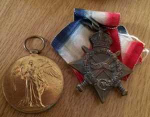 John's Medals WW1
