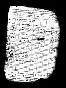 Walters WW1 Service Record