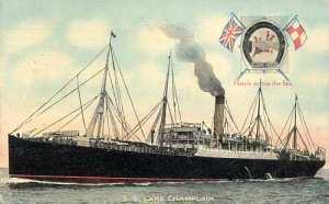 ss Lake Champlain, the ship John sailed to Canada aboard.