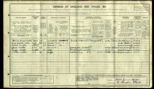 Walker 1911 Census