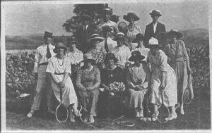 Fairfield Tennis Club c1895