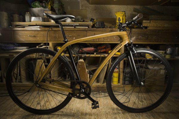 Wooden bicycles are getting better