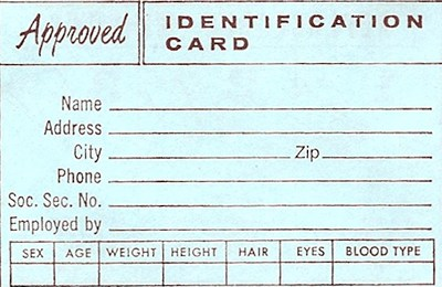 ID cards for cyclists?