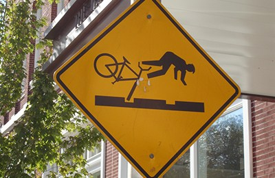 Cycling shows us our own mortality like nothing else
