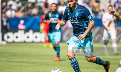 CARSON, CA - SEPTEMBER 25: Jordan Morris #13 of Seattle Sounders during Los Angeles Galaxy's MLS match against Seattle Sounders at the StubHub Center on September 25, 2016 in Carson, California. The Seattle Sounders won the match 4-2. (Photo by Shaun Clark/Getty Images)
