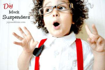 diy boy suspenders
