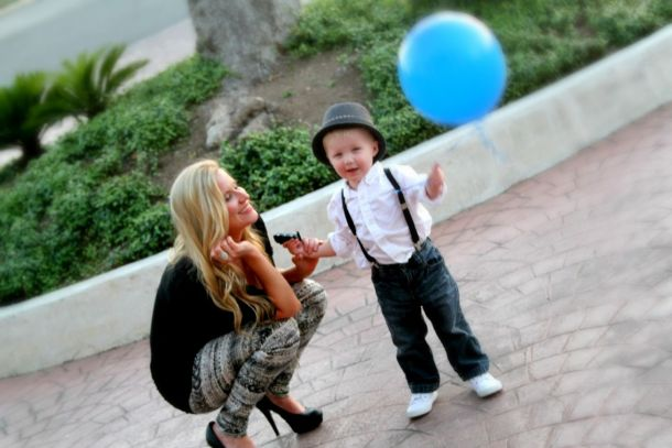 Mom and Son Fashion on The sTORIbook Blog