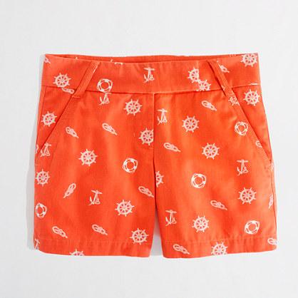 "J. Crew, Factory 5"" Broken-In Chino Shorts, $44.50"