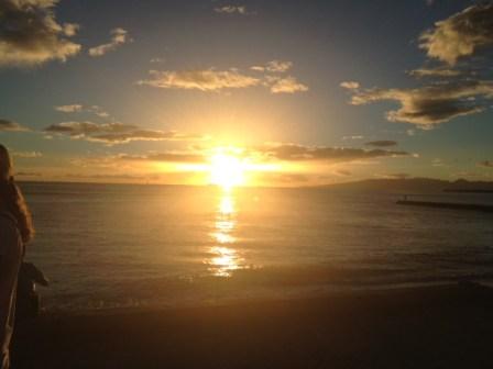 Honolulu, HI, Sunset