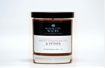 Witch City Wicks, Peppermint Eucalyptus Soy Candle, $18