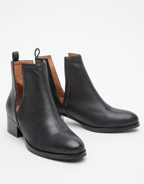 Jeffrey Campbell Oriley in Black Boots, $180.00
