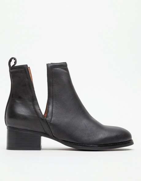 Jeffrey Campbell Oriley in Black Boots, $180