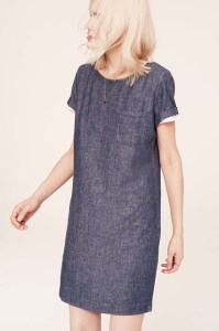 Lou & Grey Cinch Tee Dress, 69.50, available at LOFT