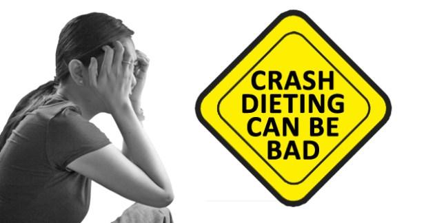 crash dieting