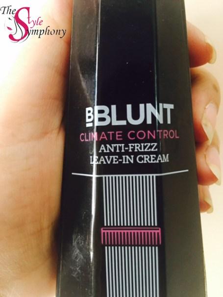 Bblunt Climate Control Anti-Frizz Leave-In Cream