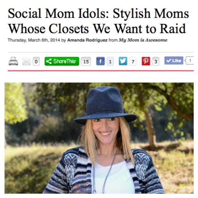 Social Mom Idols: Stylish Moms Whose Closets We Want to Raid