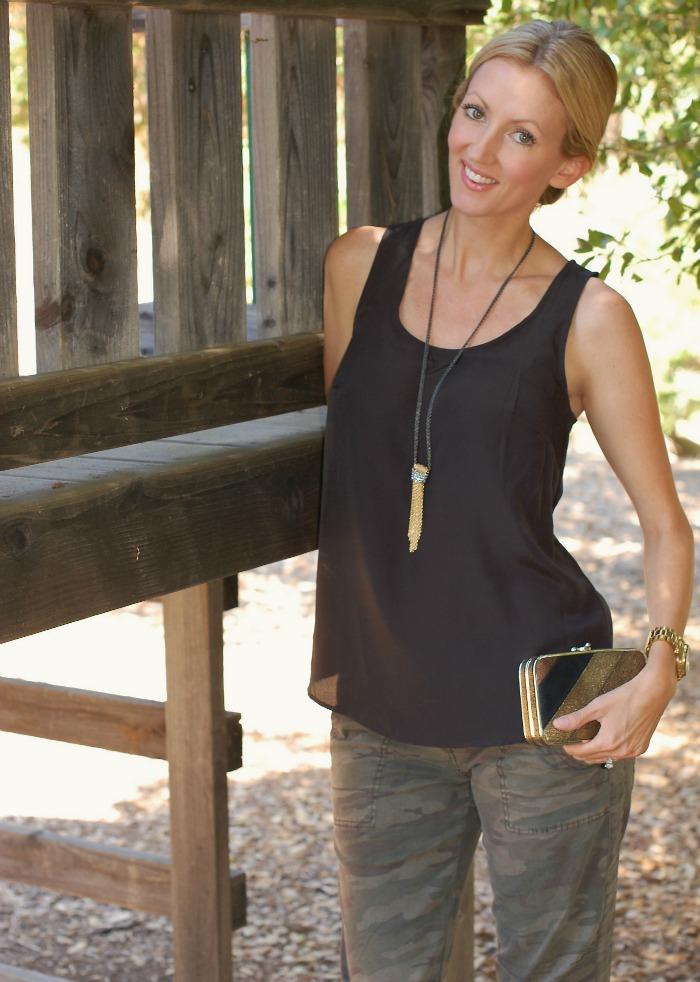 Stella & Dot Windsor Tassel Necklace