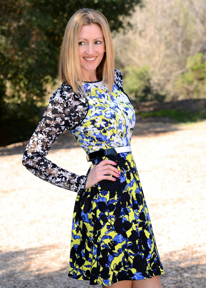 Peter Pilotto Floral Belted Dress