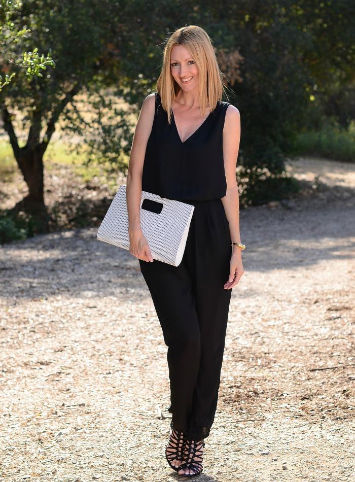 Ross Dress for Less Black Jumpsuit