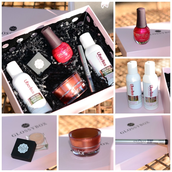August 2014 Glossybox