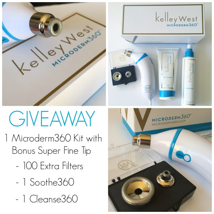 MICRODERM360 Giveaway