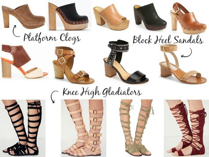 Spring 2015 Shoe Trends