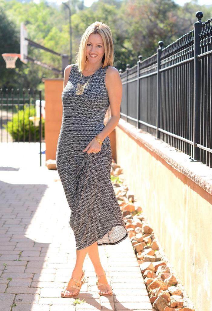 CAbi Twist Back Dress 2