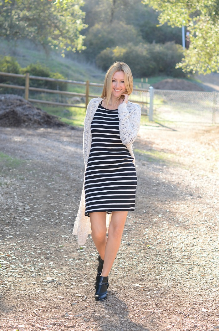 Old Navy Striped Dress IG