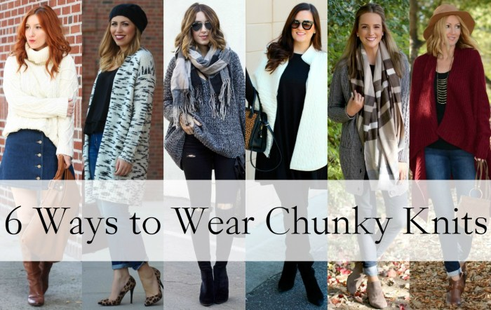 Six Ways to Wear