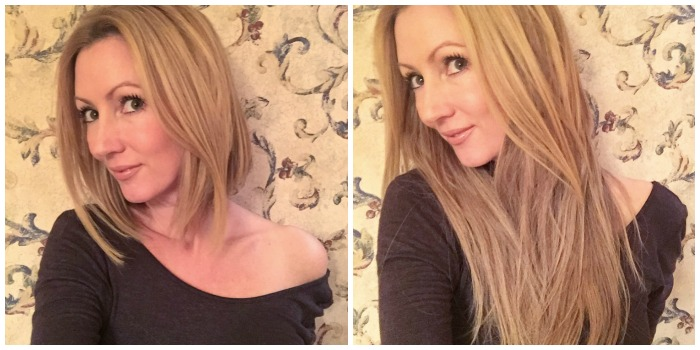 Irresistible Me Hair Extensions Collage