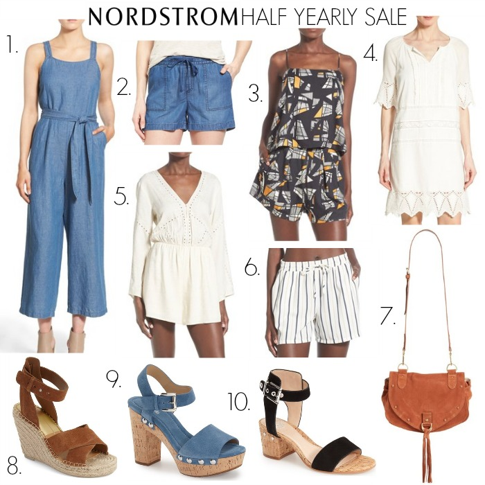 NORDSTROM HALF YEARLY SALE COLLAGE