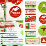 Label Daddy Holiday Gift Tags Giveaway