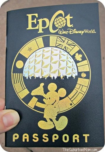 Epcot World Showcase Passport