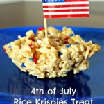 Patriotic 4th Of July Rice Krispies Treats