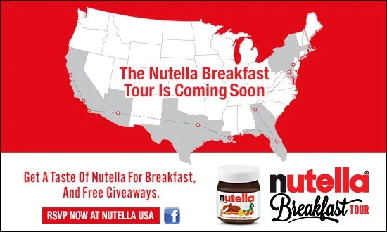 Nutella Breakfast Tour Orlando