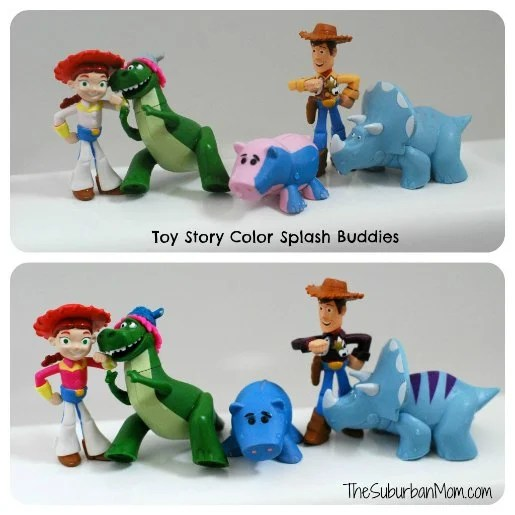 Toy Story Disney Partysaurus Rex Color Changing Splash Buddies