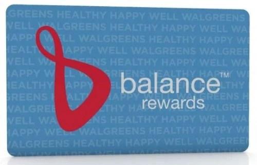 Walgreens Balance Reward Card