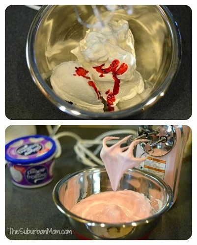 Cool Whip Frosting Pink