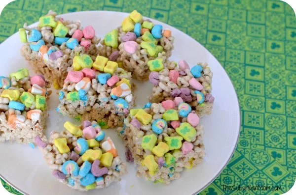 Lucky Charms Treats St. Patrick's Day