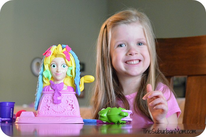 Play-Doh Disney Princess Rapunzel Hair Designs