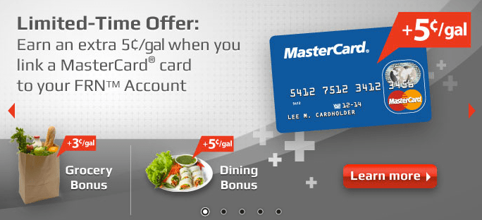 Fuel Rewards MasterCard