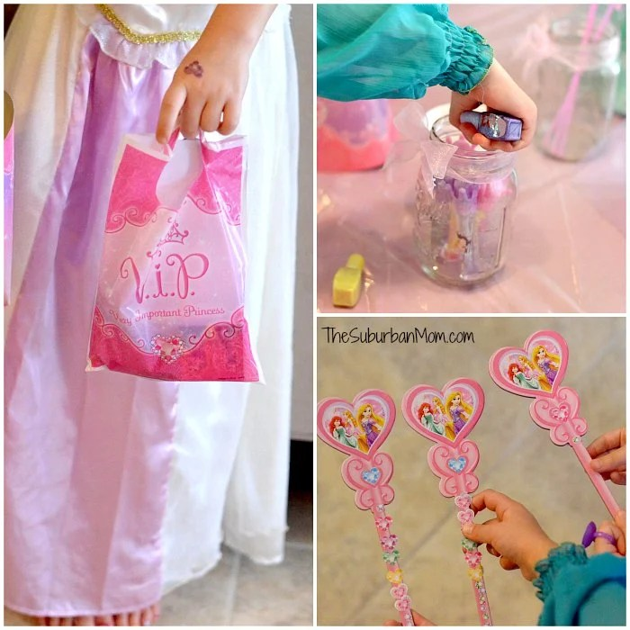 Disney Princess Party Favors Crafts