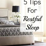 5 Tips For A Restful Night's Sleep From A Good Sleeper