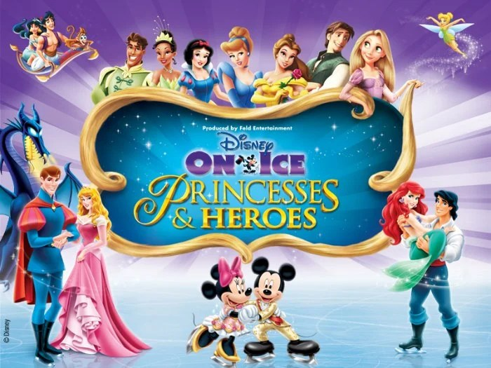 Disney on Ice Princesses & Heros