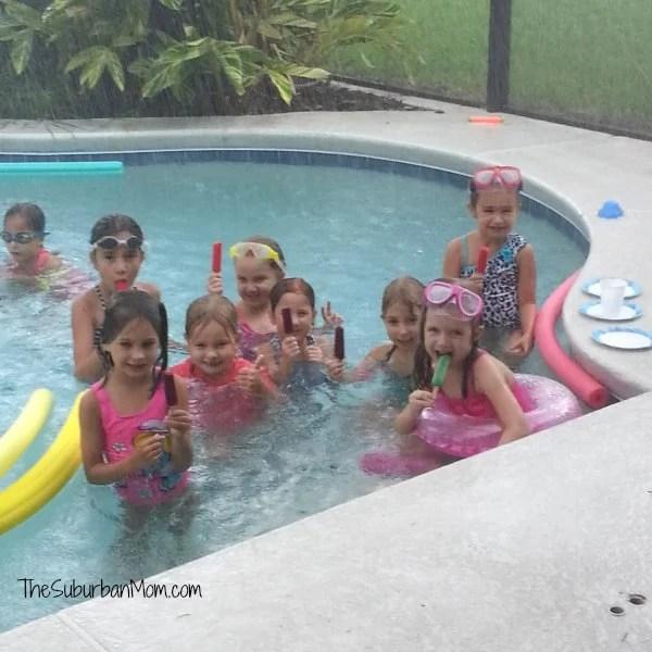 Pool Party Rain