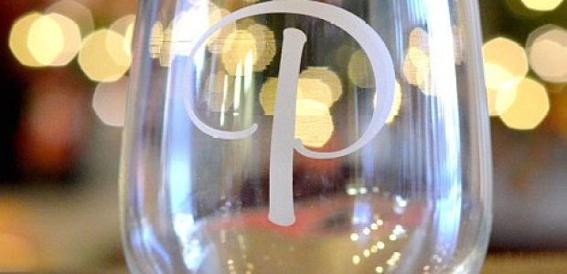 Monogramed Stemless Glassware
